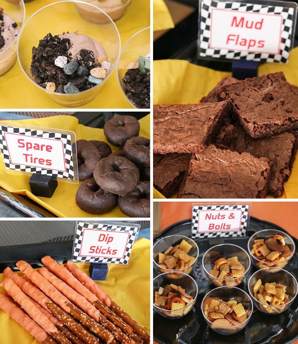 Monster Truck Birthday Party Food Ideas  Monster Truck Party