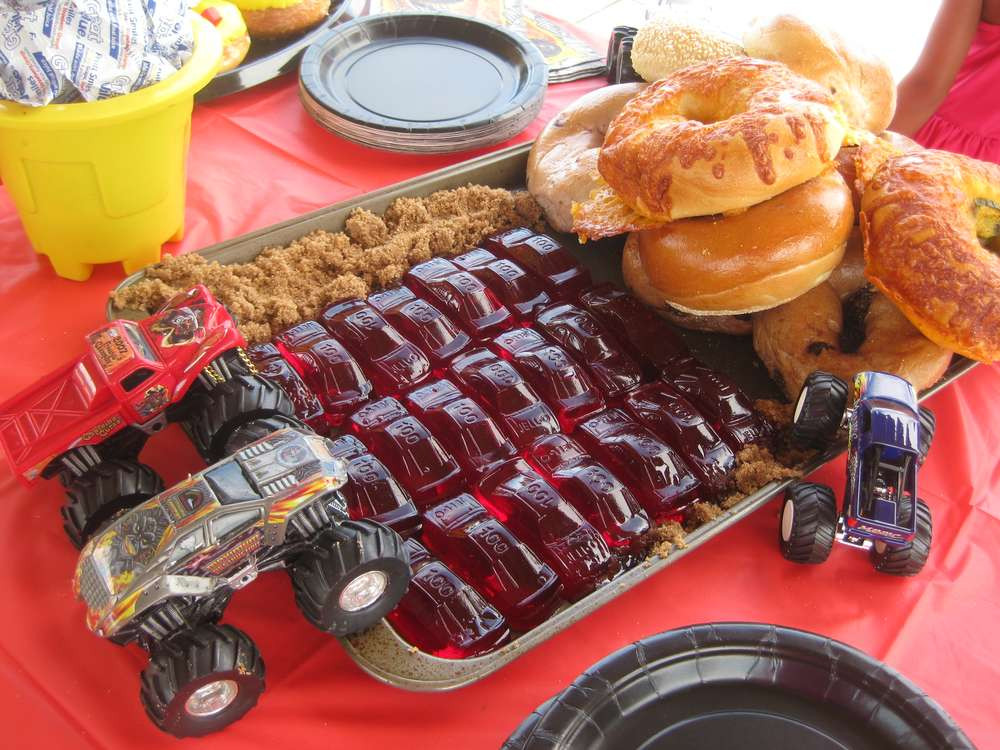 Monster Truck Birthday Party Food Ideas  Monster Truck Birthday Party Ideas 2 of 9