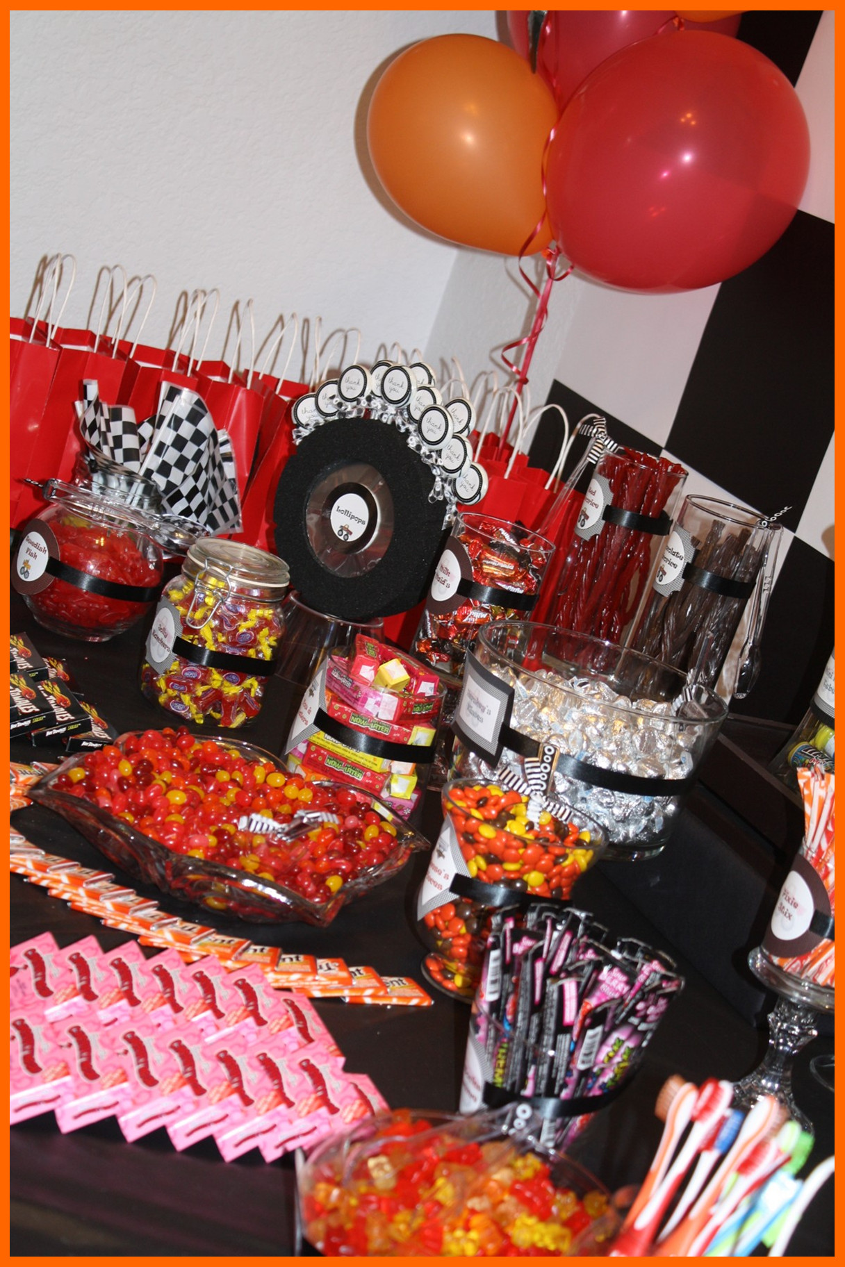Monster Truck Birthday Party Food Ideas  An Eventful Party Monster Truck 5th Birthday