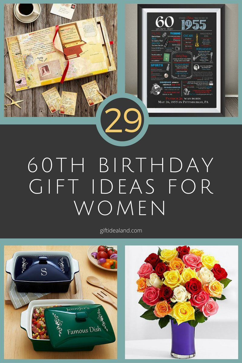 Mother 60Th Birthday Gift Ideas  29 Great 60th Birthday Gift Ideas For Her