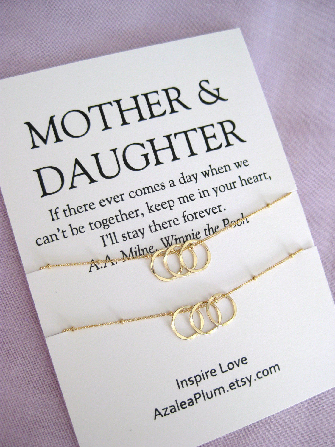 Mother 60Th Birthday Gift Ideas  60th Birthday t ideas for Mom Delicate Gold Circles Mom