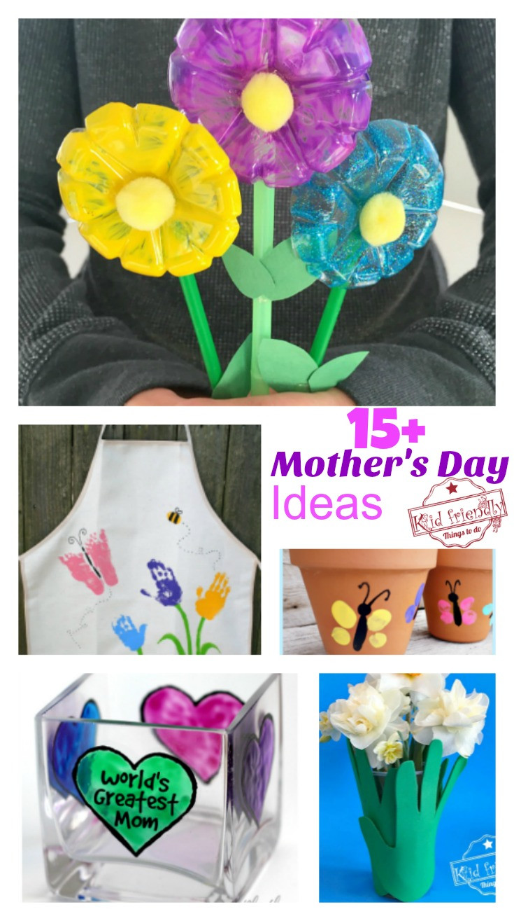 Mother Day Craft Ideas For Kids To Make  Over 15 Mother s Day Crafts That Kids Can Make for Gifts