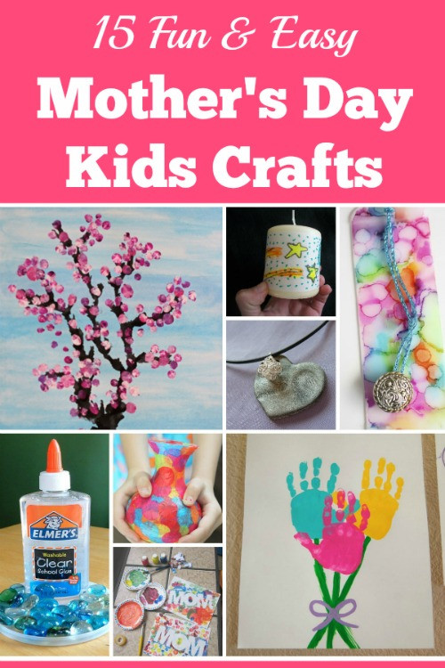Mother Day Craft Ideas For Kids To Make  15 Fun and Easy Mothers Day Kids Crafts