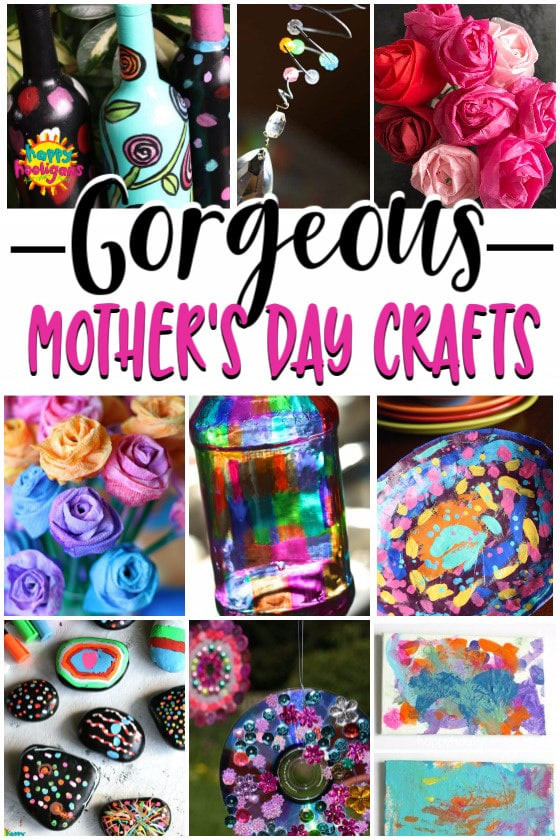 Mother Day Craft Ideas For Kids To Make  More Easy Mother s Day Crafts for Kids to Make Happy