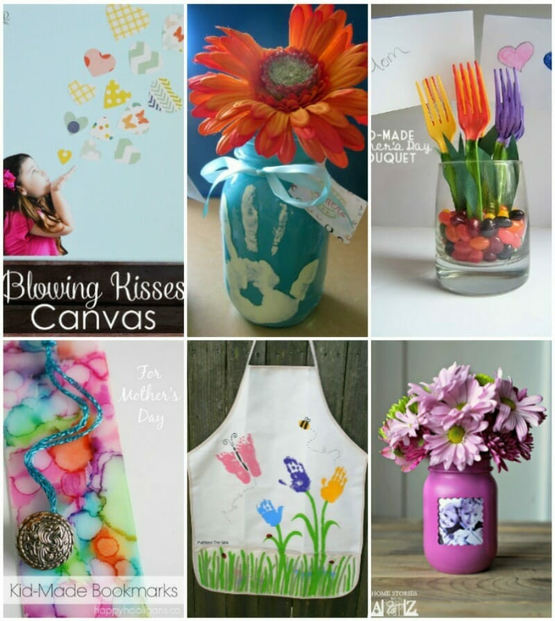 Mother Day Craft Ideas For Kids To Make  25 Mother s Day Crafts for Kids to Easily Create for Mom