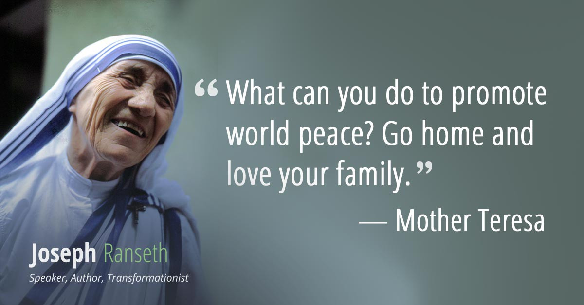 Mother Teresa Peace Quote  15 Mother Teresa quotes to cultivate love and passion