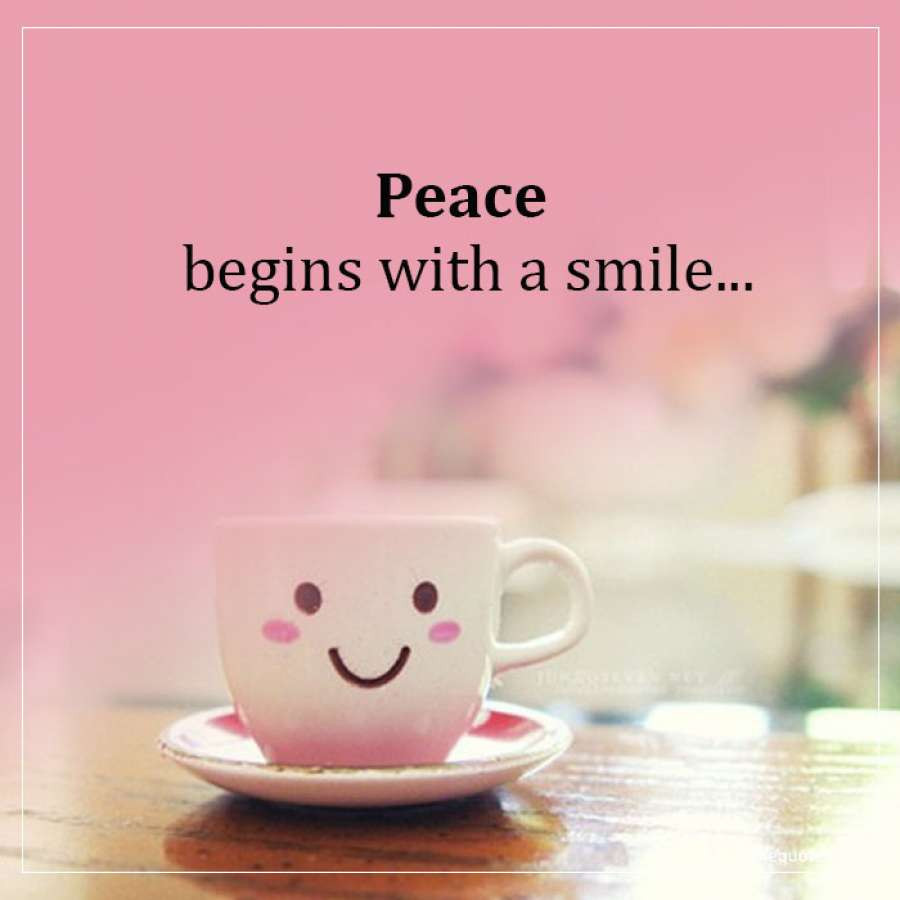 Mother Teresa Peace Quote  Peace begins with a smile Mother Teresa Quotes