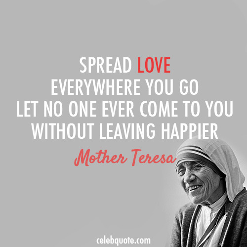 Mother Teresa Peace Quote  misslindsay12