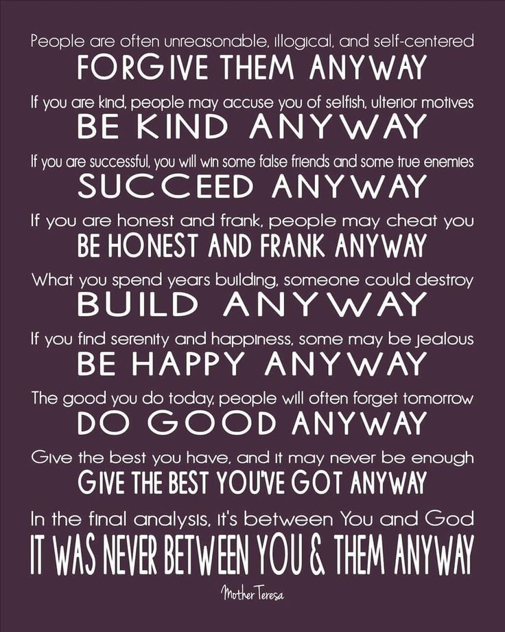 Mother Teresa Quote Be Kind Anyways  Mother Teresa Quotes Inspirational QuotesGram
