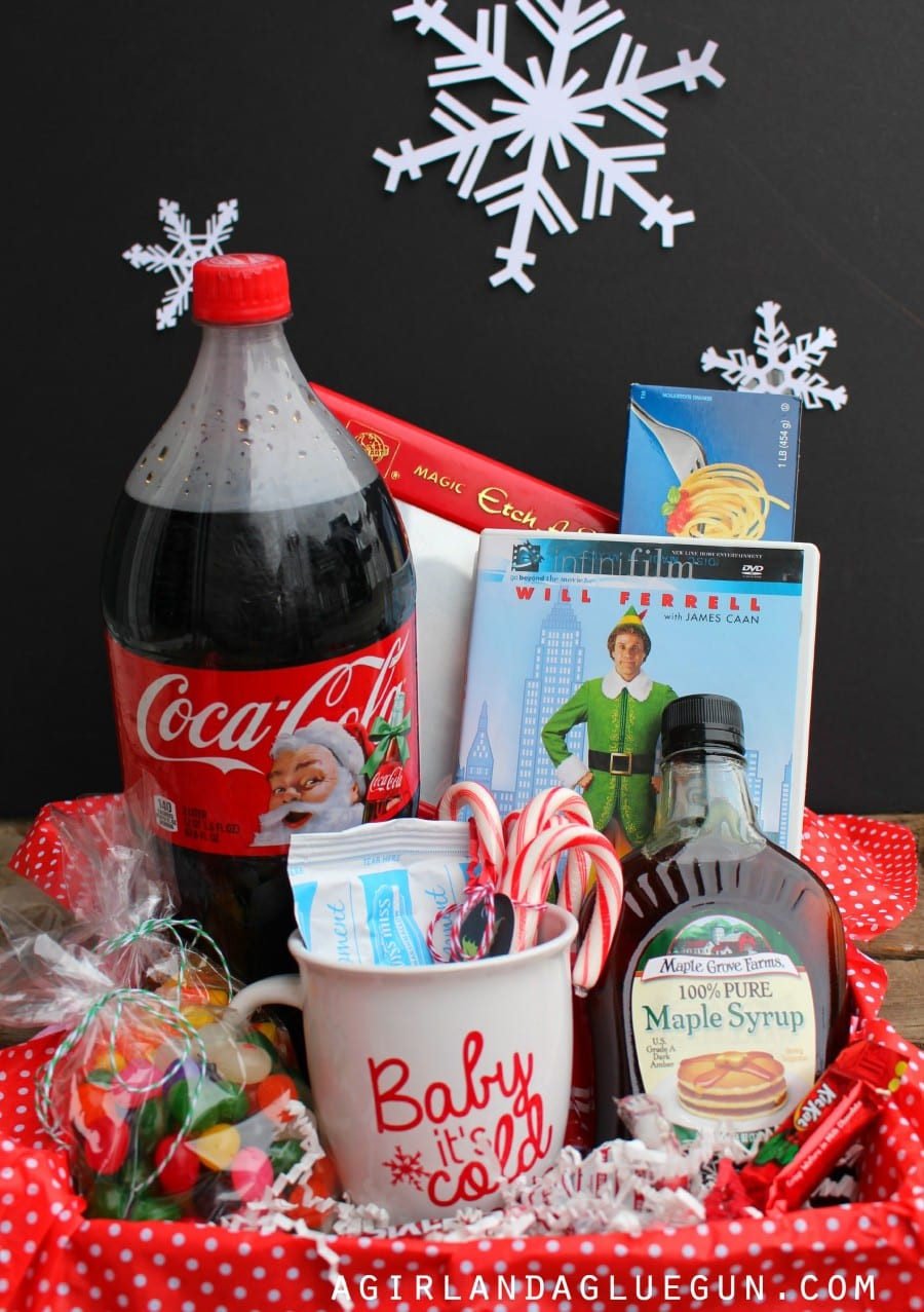 Movie Gift Basket Ideas  Themed t basket roundup A girl and a glue gun