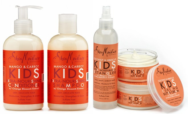 Natural Hair Products For Kids  Review SheaMoisture Kids Hair Care Collection Natural