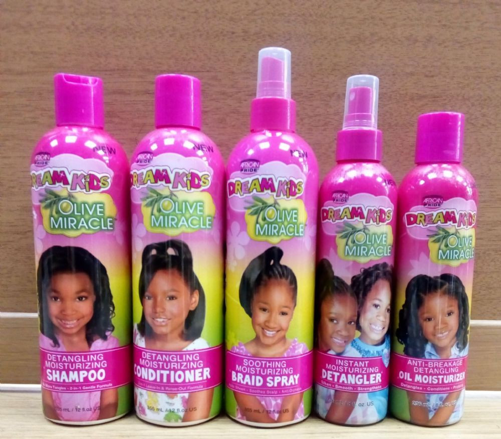 Natural Hair Products For Kids  African Pride Dream Kids Hair Products in 2020