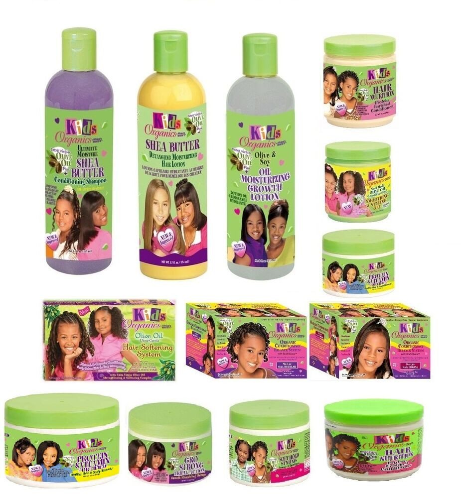 Natural Hair Products For Kids  KIDS ORGANIC OLIVE OIL KIDS HAIR CARE PRODUCTS FOR HAIR