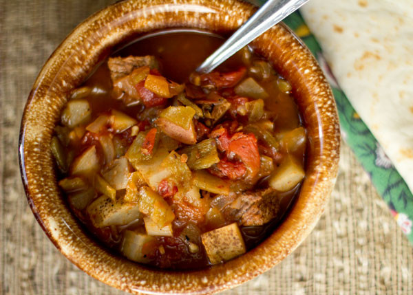 New Mexico Green Chile Stew Recipe  A Spicy New Mexico Green Chile Stew from MJ s Kitchen