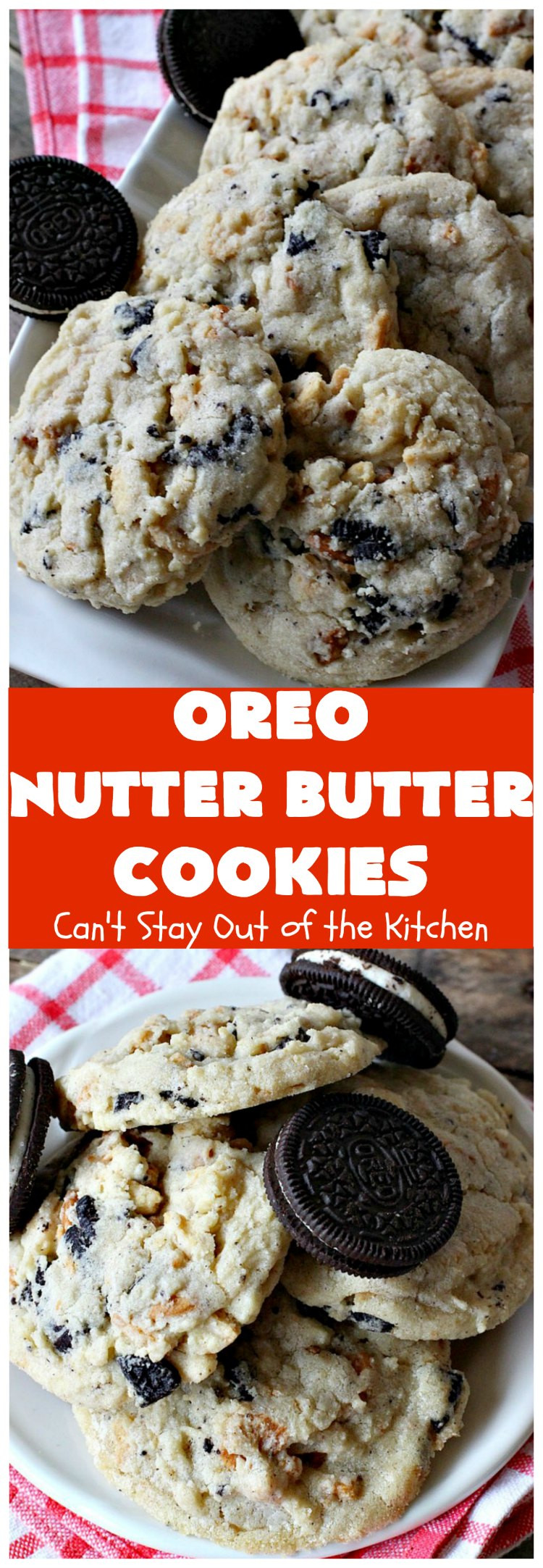 Nutter Butter Dessert  Oreo Nutter Butter Cookies – Can t Stay Out of the Kitchen