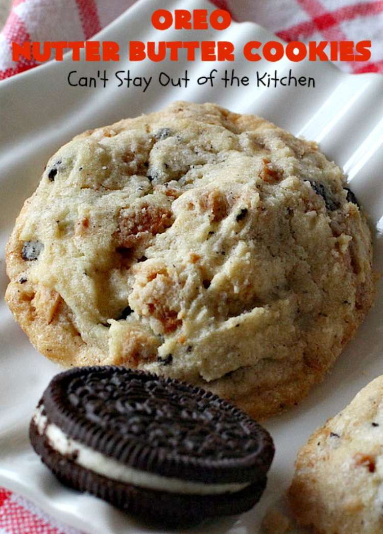 Nutter Butter Dessert  Oreo Nutter Butter Cookies Can t Stay Out of the Kitchen