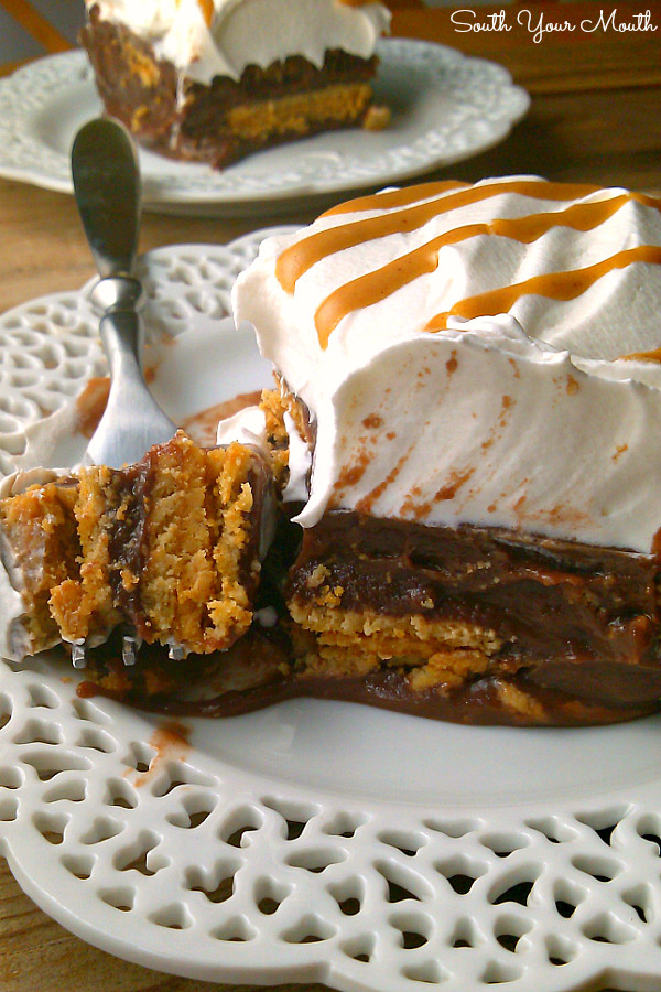 Nutter Butter Dessert  South Your Mouth Chocolate Nutter Butter Icebox Cake