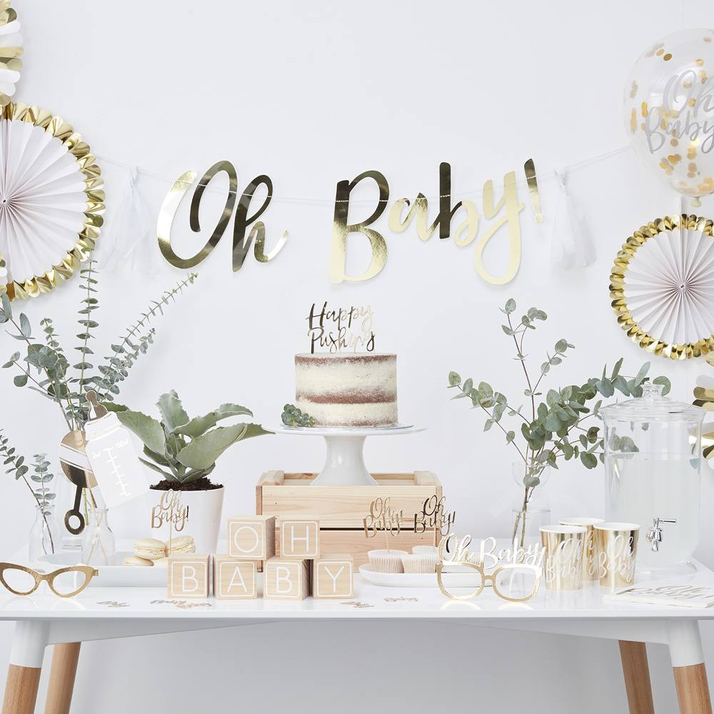 Oh Baby Party Supplies  OH BABY Baby Shower Party Supplies Gender Reveal