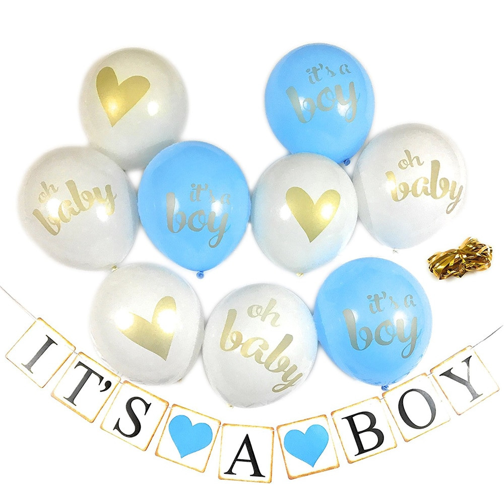 Oh Baby Party Supplies  12inch balloons baby shower kids birthday it s a boy