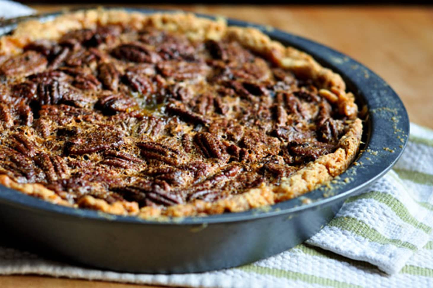 Old Fashioned Pecan Pie  Recipe Old Fashioned Pecan Pie Without Corn Syrup