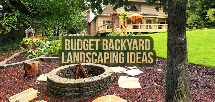 Outdoor Landscape On A Budget  10 Ideas for Backyard Landscaping on a Bud