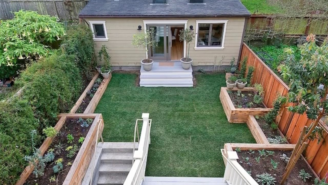 Outdoor Landscape On A Budget  27 Small Backyard Ideas on a Bud