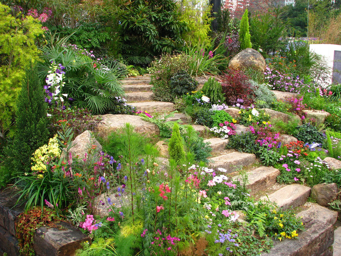 Outdoor Landscape On A Budget  Better Looking with Backyard Landscaping Ideas Interior