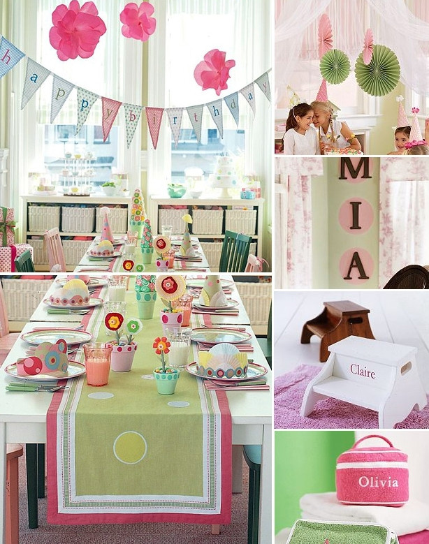 Party Barn Kids  Boys and Girls birthday party themes by Pottery Barn Kids