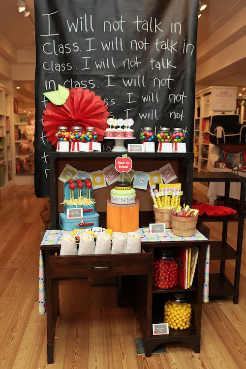 Party Barn Kids  Back to School with Pottery Barn Kids