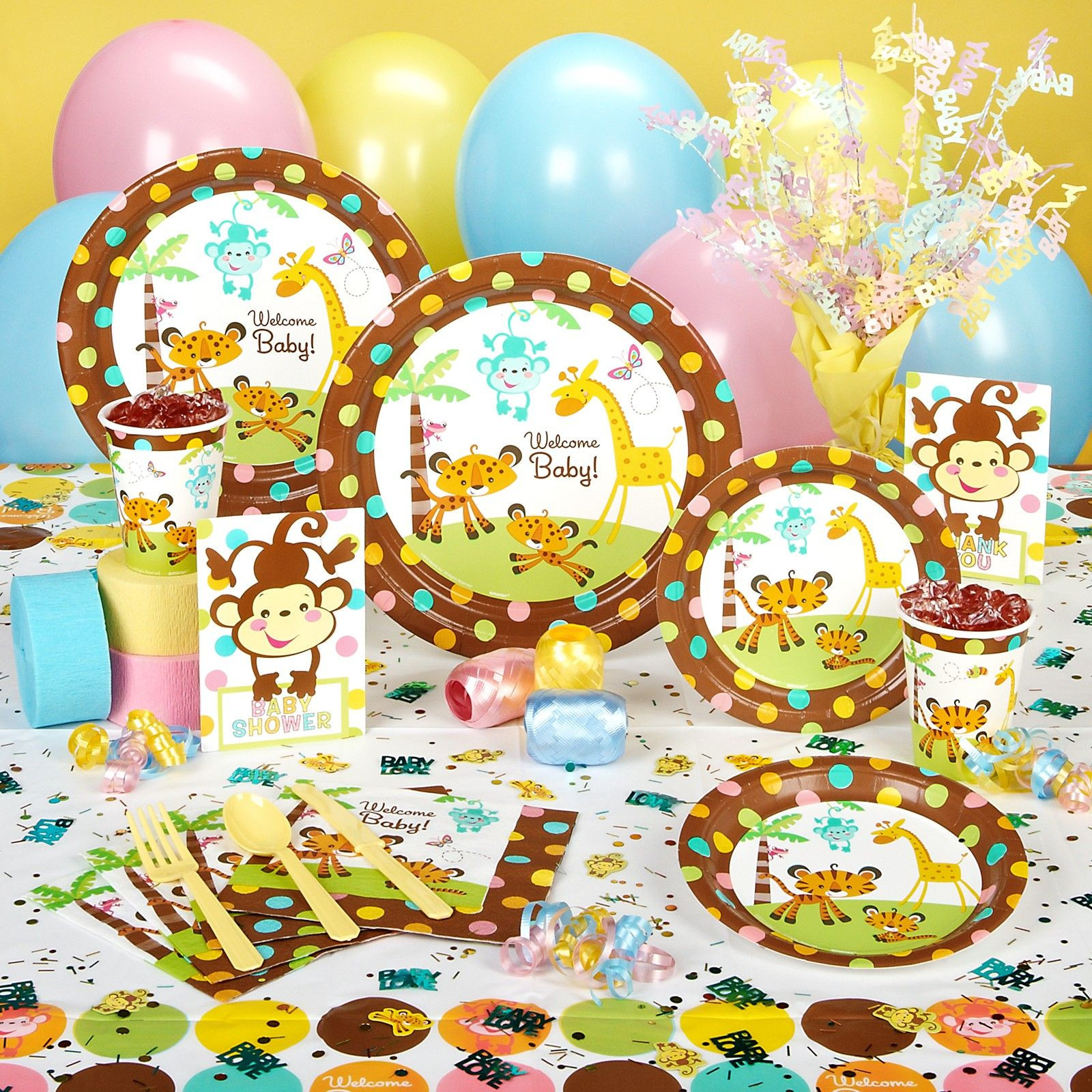 Party City Baby Shower Games  Dont want it to look like partycity threw up in the house