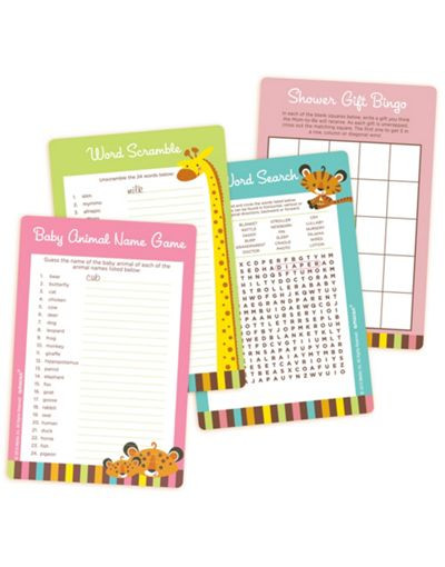 Party City Baby Shower Games  Fisher Price Baby Shower Games Kit Party City