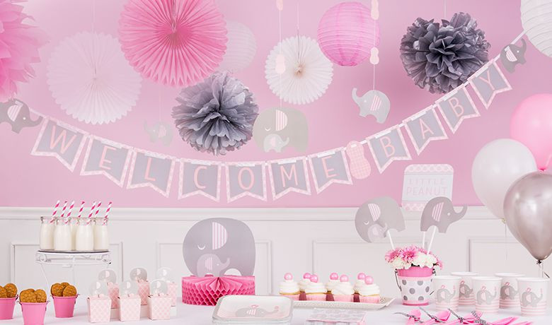 Party City Baby Shower Themes For A Girl  Baby Shower Decorations & Decoration Ideas– Baby Shower
