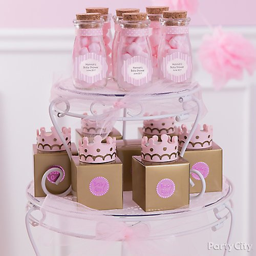 Party City Baby Shower Themes For A Girl  Little Princess Baby Shower