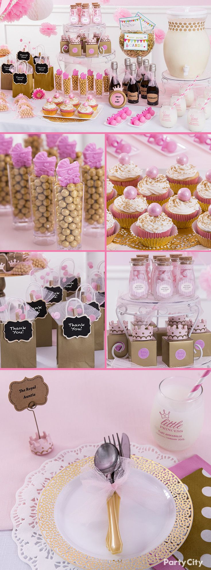 Party City Baby Shower Themes For A Girl  Pin on Baby Shower Ideas