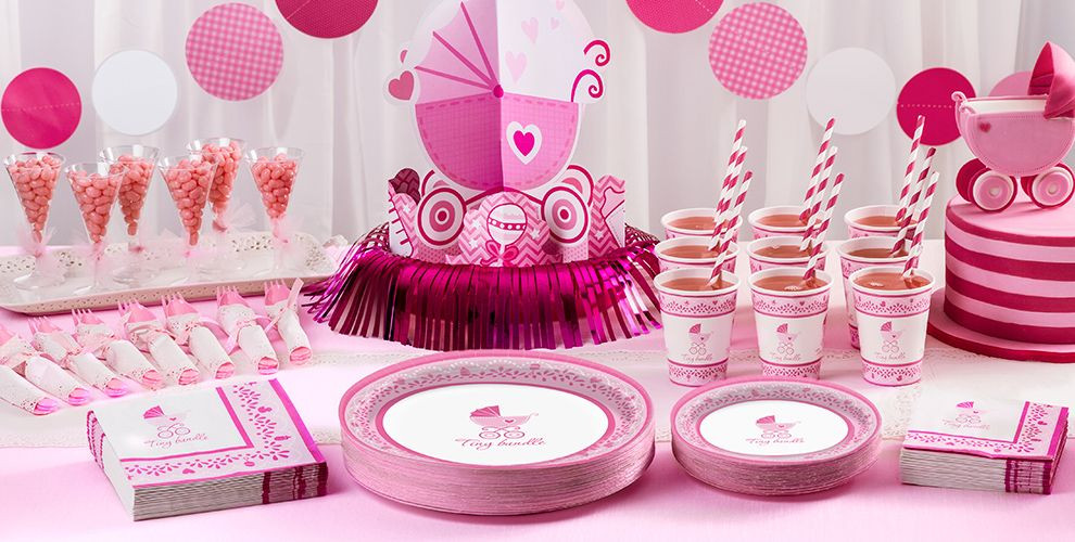 Party City Girl Baby Shower  Celebrate Girl Baby Shower Supplies Party City
