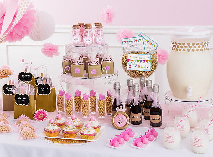 Party City Girl Baby Shower  Baby Shower Ideas Baby Shower Party Ideas Party City