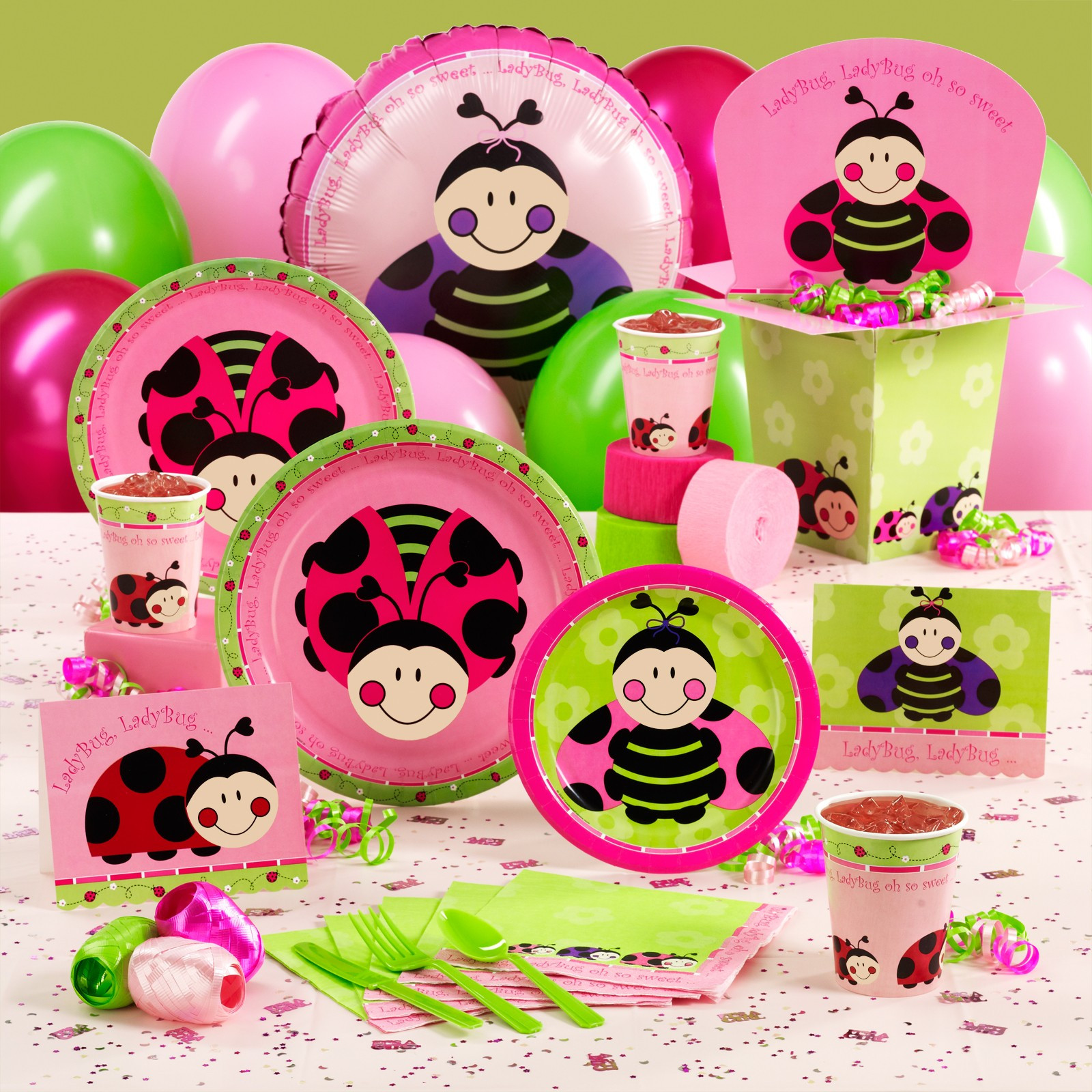Party City Girl Baby Shower  Sandy Party Decorations