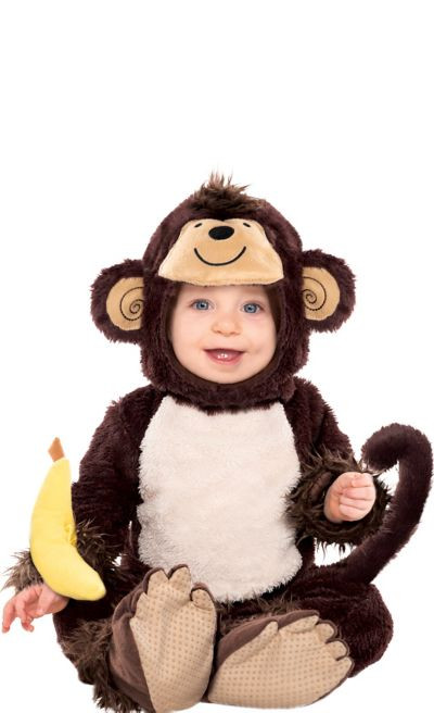 Party City Halloween Costumes Baby  Baby Monkey Costume