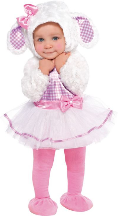 Party City Halloween Costumes Baby  Baby Little Lamb Costume