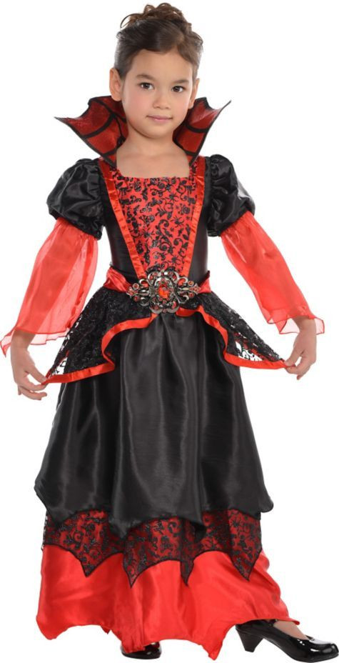Party City Halloween Costumes Baby  Toddler Girls Vampire Queen Costume Party City $26 99