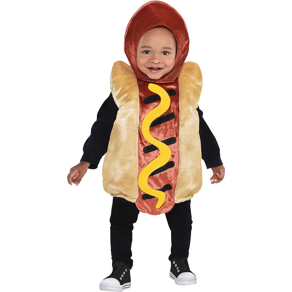 Party City Halloween Costumes Baby  Baby Mini Hot Dog Costume