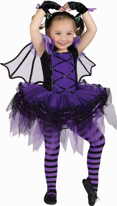 Party City Halloween Costumes Baby  Toddler Girls Batarina Costume Party City