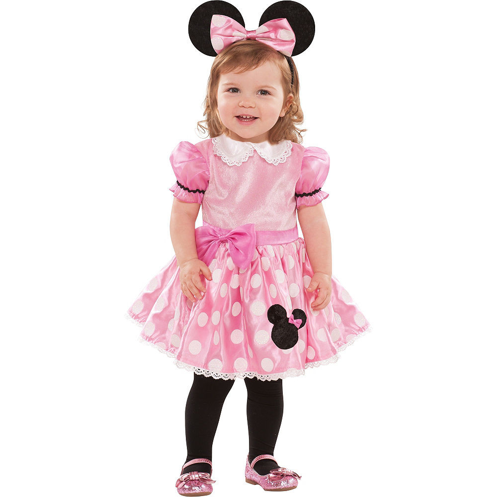 Party City Halloween Costumes Baby  Baby Pink Minnie Mouse Costume