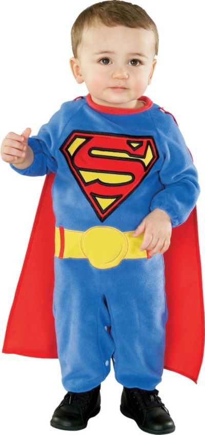 Party City Halloween Costumes Baby  Baby Superman Costume Party City