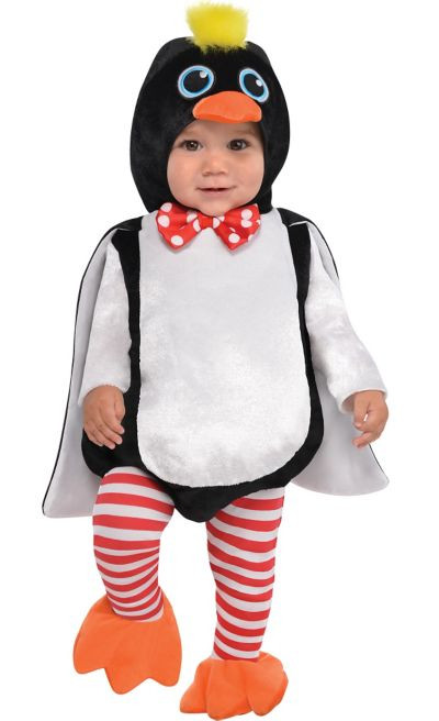 Party City Halloween Costumes Baby  Baby Waddles the Penguin Costume