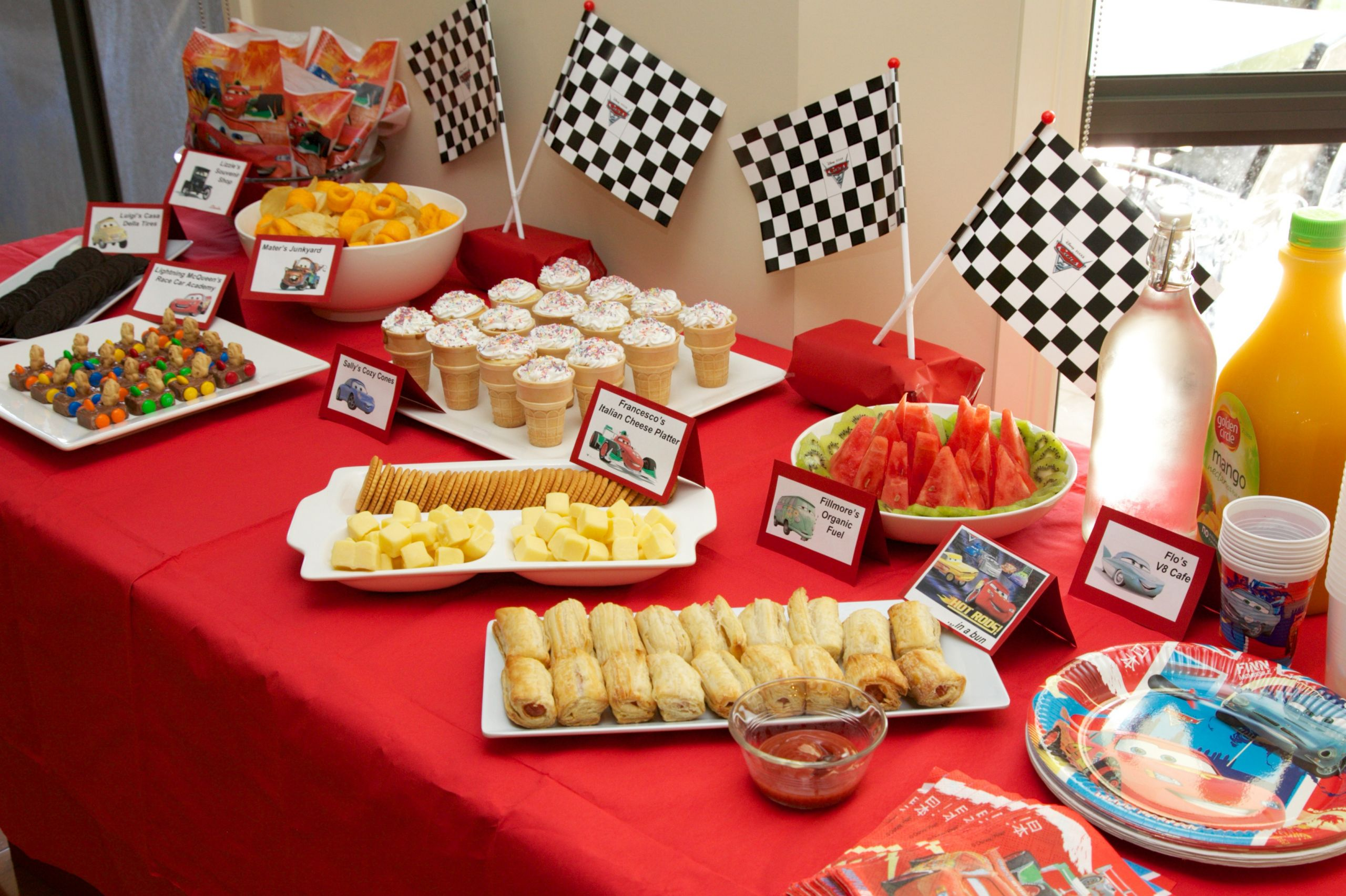 Party Food Ideas For Kids  How to throw a BIG kids birthday party on a small bud