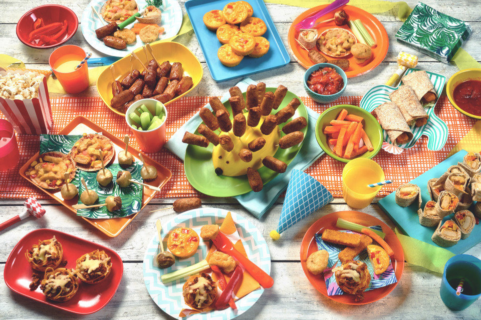 Party Food Ideas For Kids  Ve arian Kids Party Food Ideas Party Finger Food
