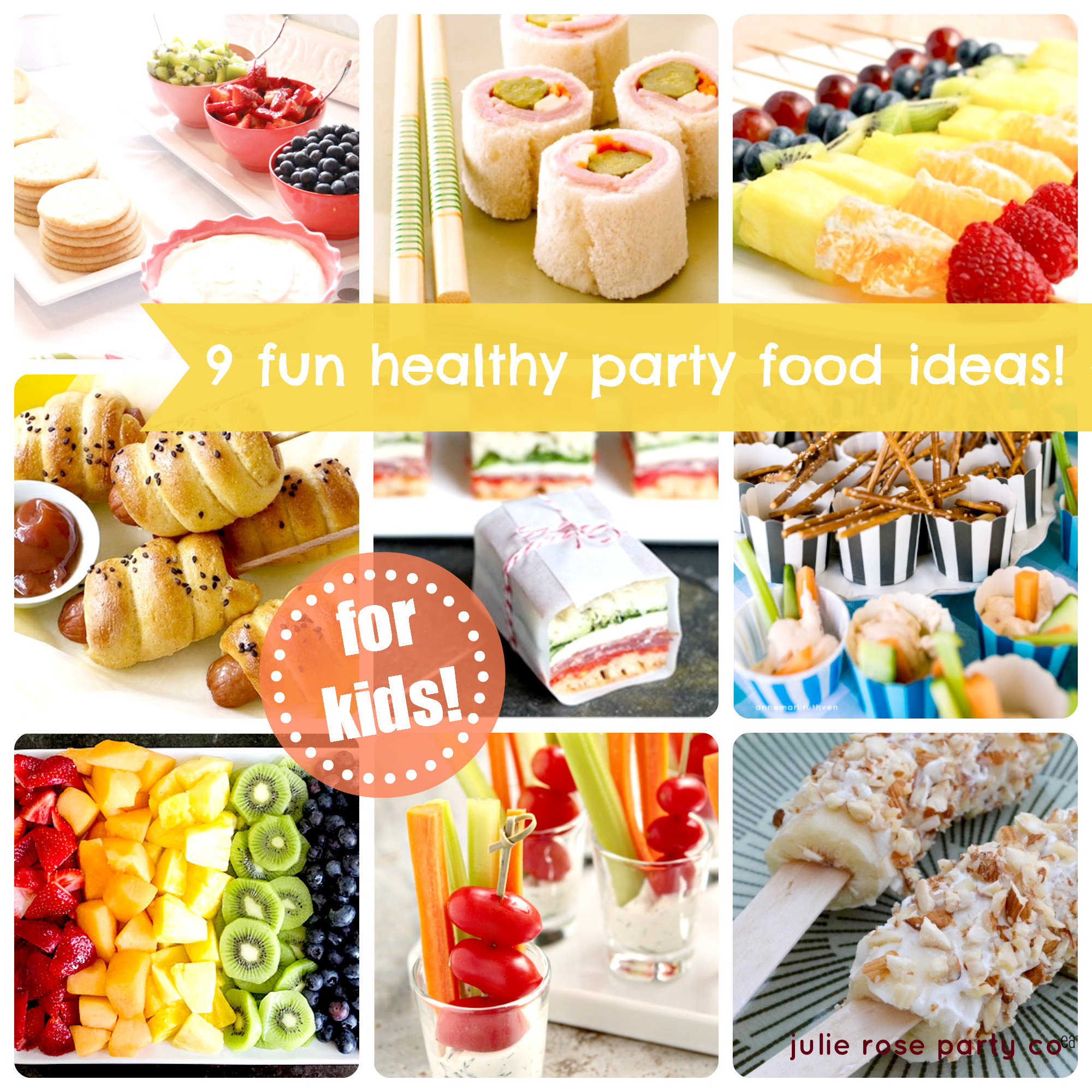 Party Food Ideas For Kids  9 fun and healthy party food ideas kids