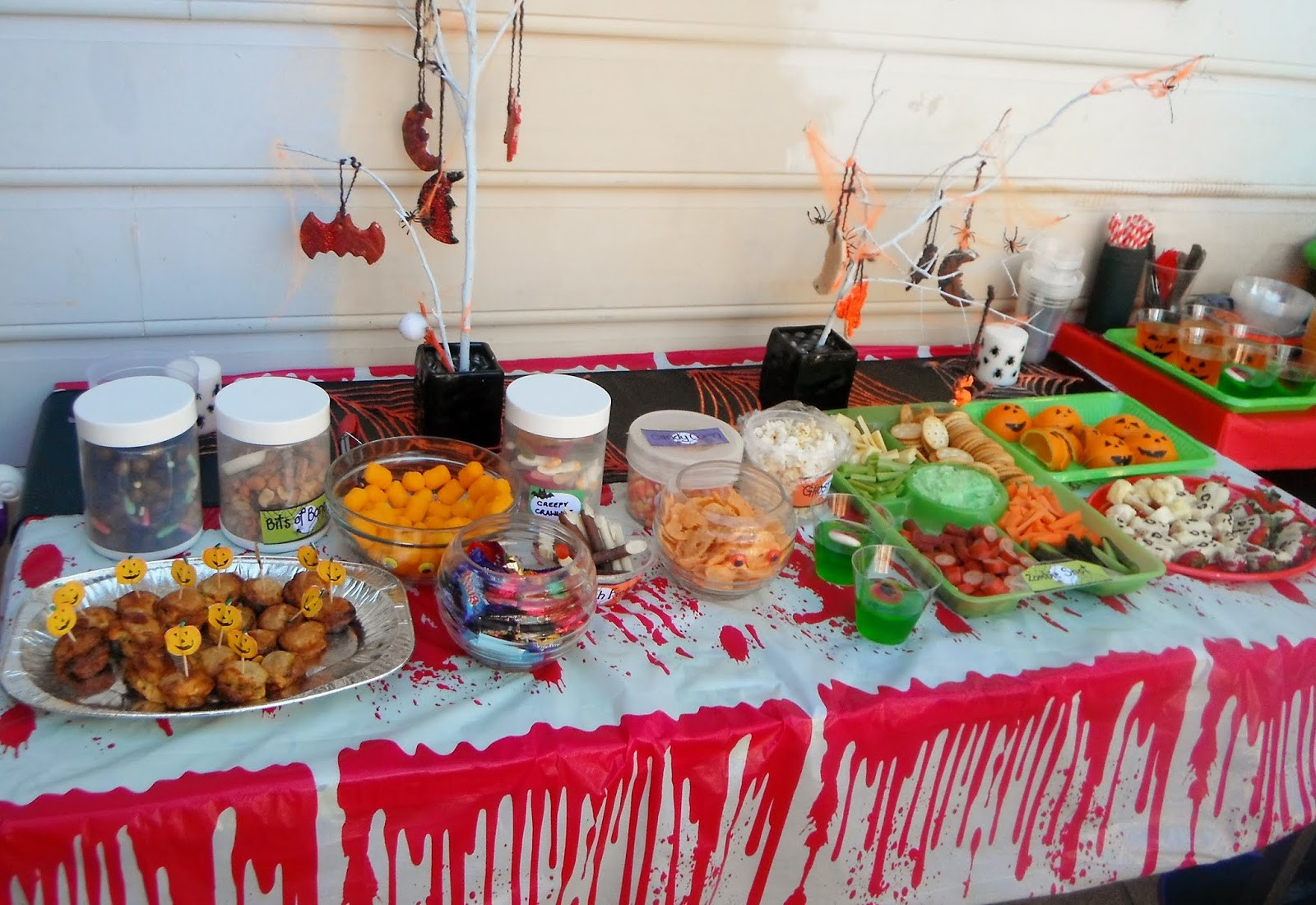 Party Food Ideas For Kids  Adventures at home with Mum Halloween Party Food