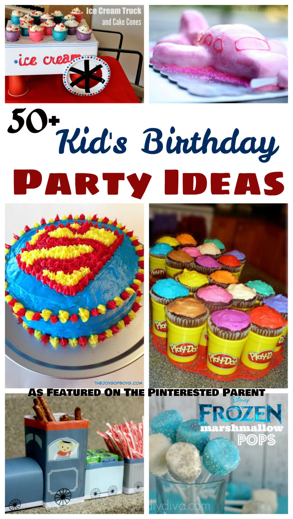 Party Theme Ideas For Kids  50 Kid s Birthday Party Ideas – The Pinterested Parent